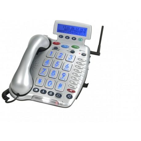Zesílený telefon CL600 bez SOS funkce