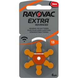 Rayovac Extra Advanced Mercury Free 13