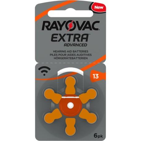 Rayovac Extra Advanced Mercury Free 13