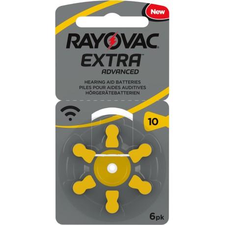 Rayovac Extra Advanced Mercury Free 10