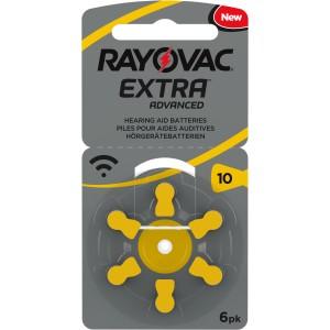 Baterie do sluchadel - Rayovac Extra Advanced Mercury Free 10