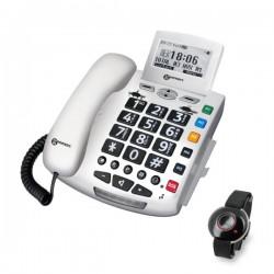 Zesílený telefon Serenities s SOS funkcí